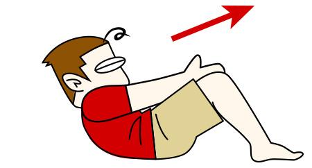 腹筋を割る鍛え方1 合掌クランチ【腹筋上部】