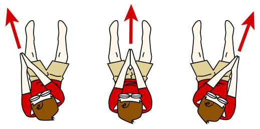 腹筋を割る鍛え方2 合掌クランチの応用【腹筋上部】