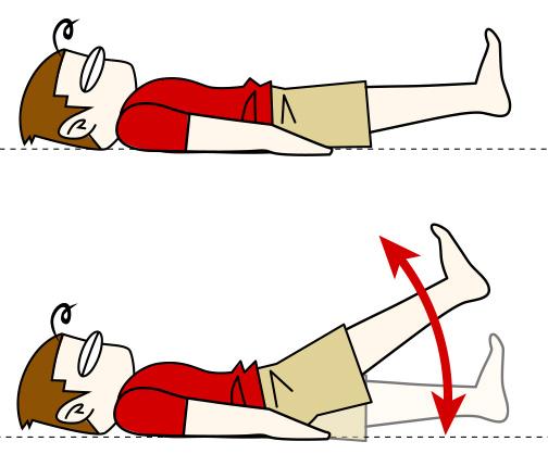 腹筋を割る鍛え方5 レッグレイズ【腹筋下部】