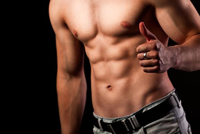 へそより下の下腹部の脂肪を落として凹ます!!