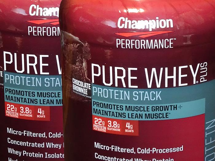 飲んでみて!Champion PERFORMANCE(チャンピオンパフォーマンス) Pure Whey Plusを飲み比べ&レビュー