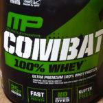 【レビュー!】コンバット(COMBAT) 100%ホエイプロテインを飲んだ感想&評価