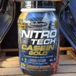 Nitro-Tech Casein Goldはカゼインプロテイン初の人にもおすすめな理由【レビュー】