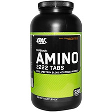 【iHerb】Optimum Nutrition, Superior Amino 2222 タブ、320 錠