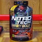 MuscleTech ナイトロテックホエイゴールド(Nitro Tech Whey Gold)を飲み比べ&評価