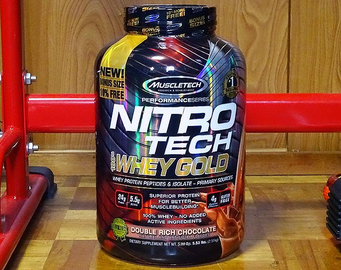 ナイトロテックホエイゴールド(Nitro Tech Whey Gold)を比較体験!評価は口コミ通りか?
