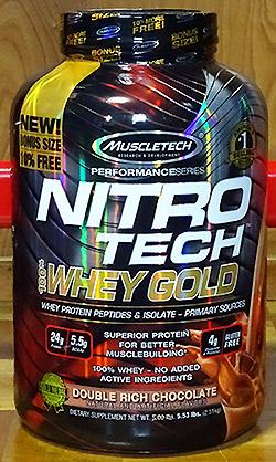 Nitro Tech 100%ホエイゴールド (Muscletech)