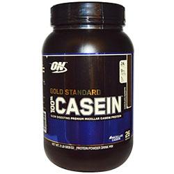 【iHerb】Optimum Nutrition, 100%カゼイン、ゴールドスタンダード 、 チョコレートスープリーム、 2パウンド (909 g)