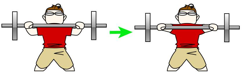 大胸筋下部のためのデクラインベンチプレス