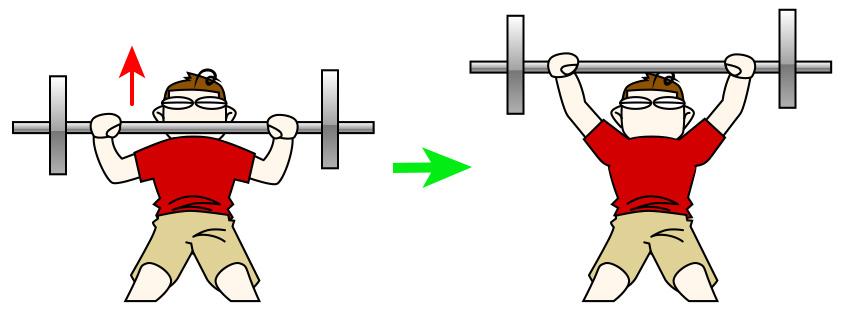 大胸筋内側(中部)のためのベンチプレス