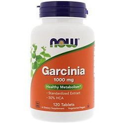Now Foods, ガルシニア, 1,000 mg, 120 錠