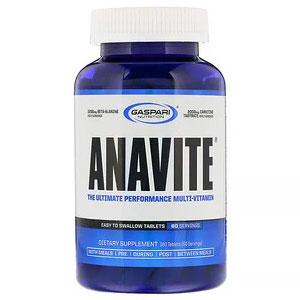 Gaspari Nutrition, ANAVITE(アナバイト)、アルティメットパフォーマンスマルチビタミン、180粒
