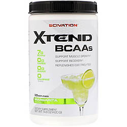 Scivation, Xtend、BCAAs、マルガリータ、14.8 oz (420 g)