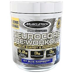 Muscletech, プロシリーズ、ニューロコア・プレワークアウト、アイシーブルー・ラズベリー、8.08 oz (229 g)