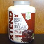 ついに出た!エクステンドのプロテイン! XTEND PRO ホエイアイソレート チョコレートラバケーキを飲んだ感想&評価