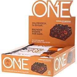 Oh Yeah!, ワンバー、チョコレートブラウニーフレーバー、12本、各2.12オンス (60 g)