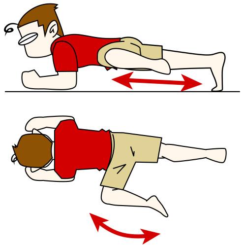 腹筋を鍛えて割る5 片足プランクエクサ【腹筋上部・下腹部・腹横筋・腸腰筋・腹斜筋】