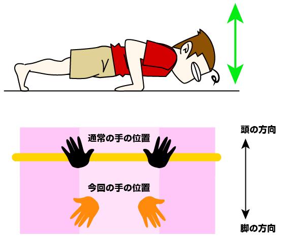 上腕三頭筋|リバースプッシュアップトレーニング