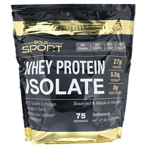 California Gold Nutrition WHEY PROTEIN ISOLATE (ホエイプロテインアイソレート)