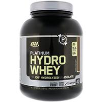 Optimum Nutrition, プラチナムハイドロホエイ、 ターボチョコレート、 3.5パウンド (1590 g)