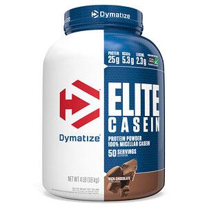 Dymatize Nutrition, エリートカゼイン、リッチチョコレート