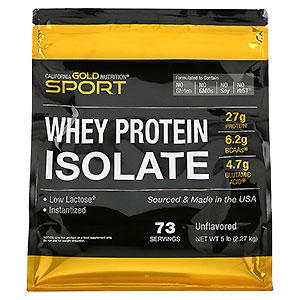 California Gold Nutrition WHEY PROTEIN ISOLATE (ホエイプロテインアイソレート)