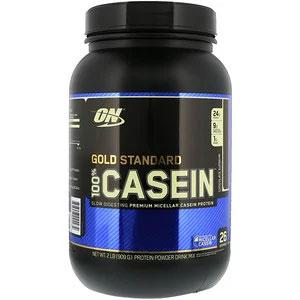 Optimum Nutrition, Gold Standard 100% Casein(ゴールドスタンダード100%カゼイン)
