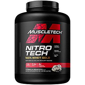 Muscletech, ニトロテク100%ホエイゴールド