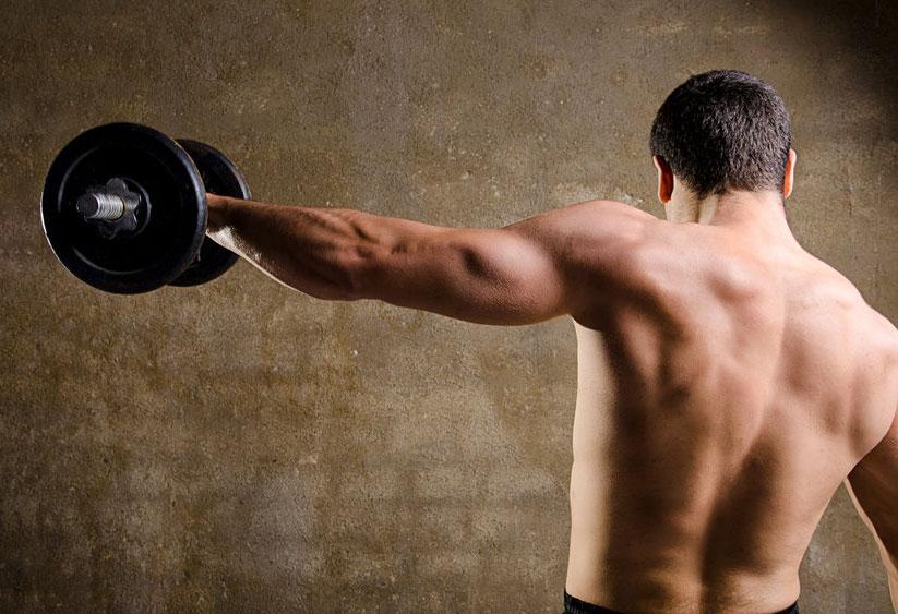 三角筋を鍛えるダンベル筋トレ!肩の筋肉の正しい鍛え方で、目指せメロン肩!