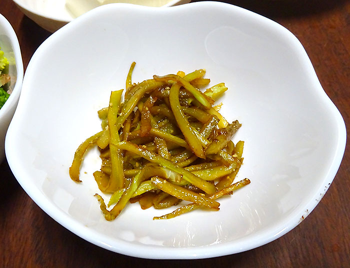 ブロッコリーの茎のきんぴら 作り方&レシピ