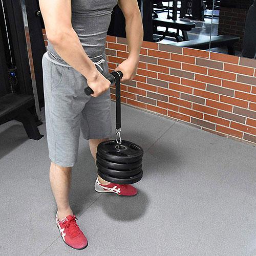 【前腕筋トレ】リストローラーで前腕筋を筋肥大させるトレーニング!メニューと重量・回数を検証!